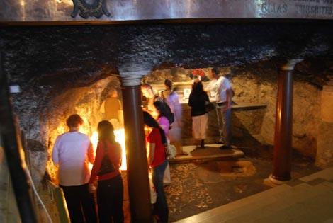 Grotte des Elias