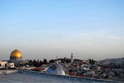 Jerusalem, vom Dach des österreichischen Hospiz