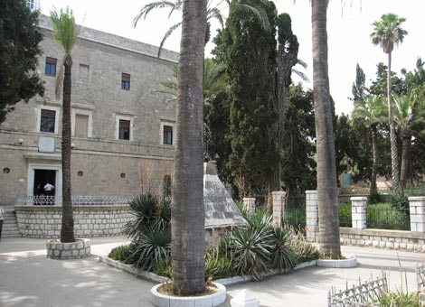 Karmeliter-Konvent auf dem Karmel in Haifa