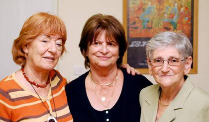Chava Kopelman, Erika Goldschmied-Zimmermann, Dita Segal