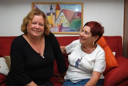 Ruth Yaffee und ihre Mutter Ella Kaufmann