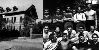 Jüdisches Waisenhaus in der Goldschlagstraße 84